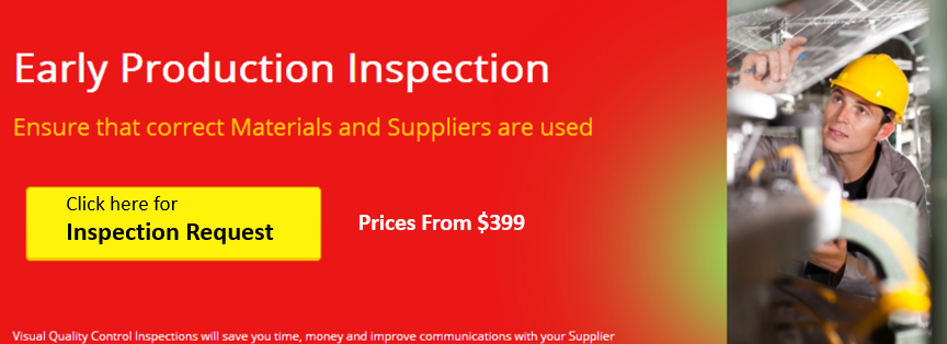Early Production Inspections from only $399