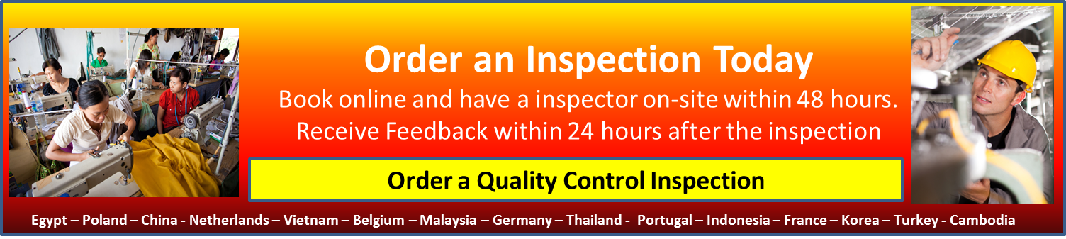 Goodada Quality Control Inspections